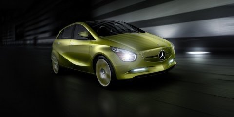 'Benz to show BlueZERO concepts in Detroit