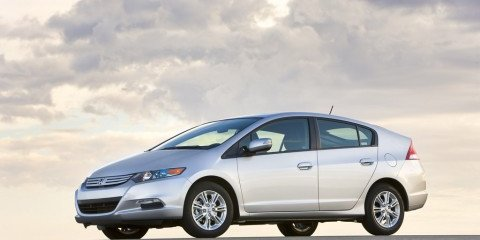 2009 Honda Insight Hybrid first official image