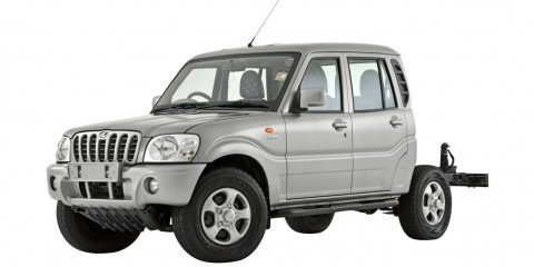 2009 Mahindra Pik-Up cab/chassis