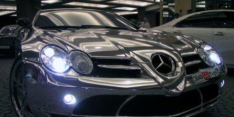 Gold for Mercedes-Benz