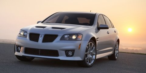 Bleak future for Pontiac G8 in the U.S.