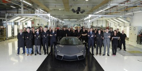 Final Lamborghini Reventón delivered to lucky owner