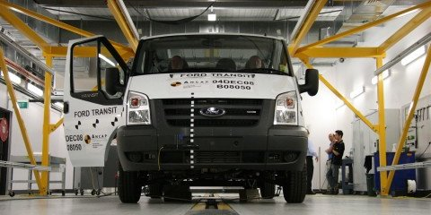 ANCAP 2008 Ford Transit Crash Test