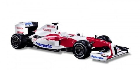 Toyota launches 2009 F1 car