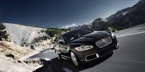2010 Jaguar XFR Supercharged sedan