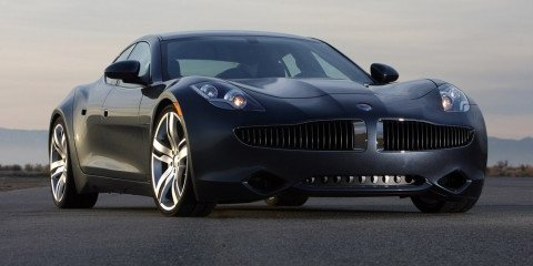2009 Fisker Karma luxury plug-in saloon