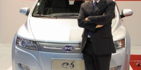 NAIAS - China's BYD to enter US market in 2011