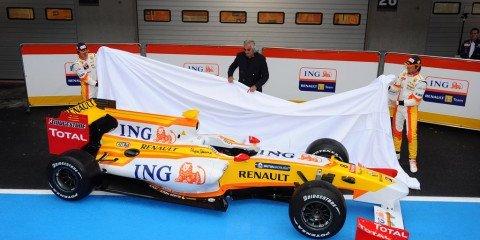 Renault unveils 2009 F1 car