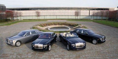 Rolls-Royce record 20 percent sales growth