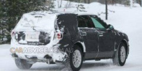 2010 Saab 9-4X SUV spied