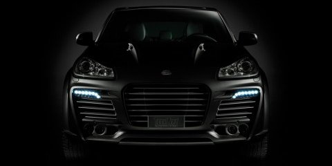 TechArt daytime running lights for Cayenne