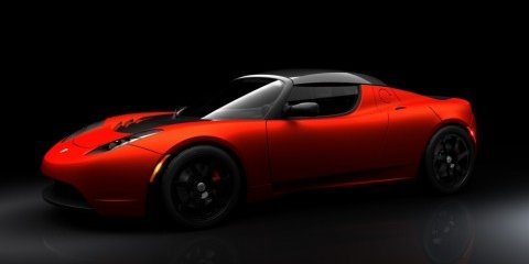 2009 Tesla Roadster Sports unveiled