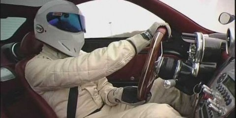 The Stig - revealed!