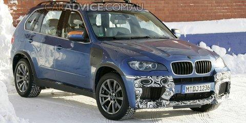 2010 BMW X5 M interior spied
