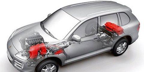 New details on Porsche Cayenne Hybrid