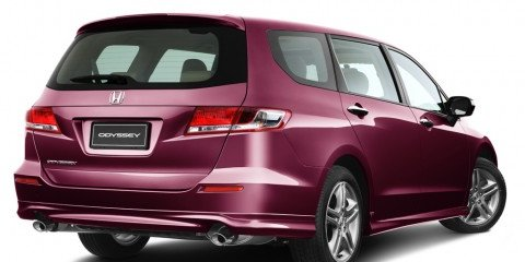 2009 honda odyssey review photos caradvice. Black Bedroom Furniture Sets. Home Design Ideas