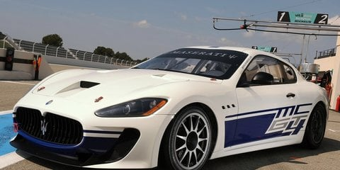 Maserati debuts GranTurismo MC race car
