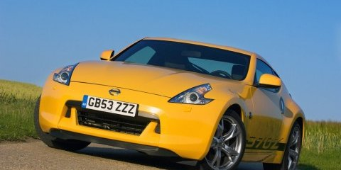 Nissan 370Z Yellow special edition for UK