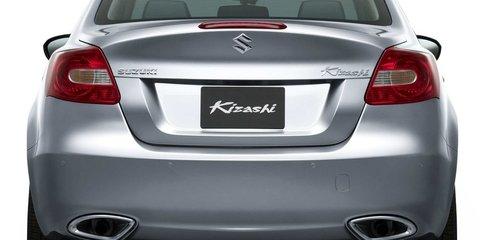 Suzuki Kizashi unveiled, heading to Oz