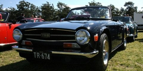 All British Classic Car Show at Kings School