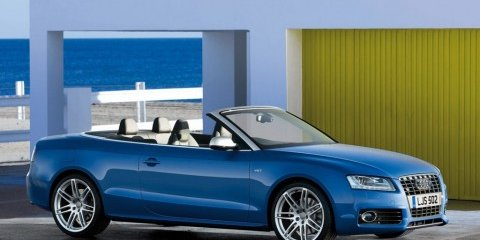 Supercharged V6 Audi S5 Cabriolet unveiled