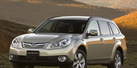 Subaru Outback MY10 launched
