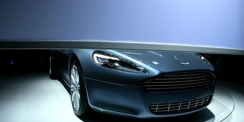 Aston Martin Rapide at Frankfurt Motor Show