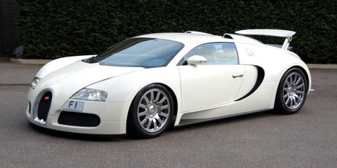 F1-plated Bugatti Veyron headlines MPH Show in UK