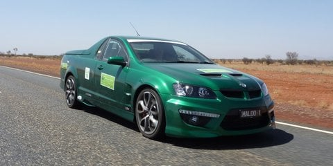 HSV Maloo wins Global Green Car Challenge