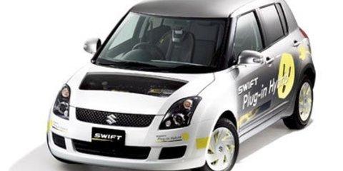 Suzuki Swift plug-in hybrid & SX4-FCV at Tokyo Motor Show
