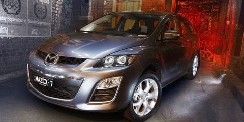 2010 Mazda CX-7 arrives with new diesel and FWD models