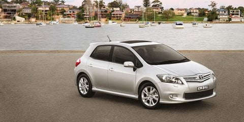 2010 Toyota Corolla facelift
