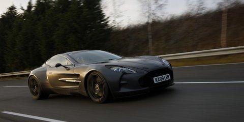 Aston Martin One-77 clocks 350km/h+ in high speed testing