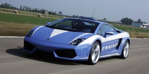 Italian police write-off Lambo