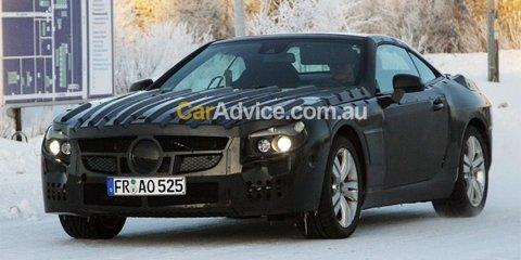 2011 Mercedes-Benz SL-Class spy video