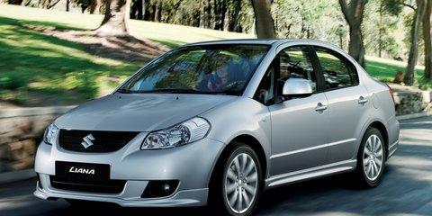 Suzuki SX4 & Liana Review (2010)