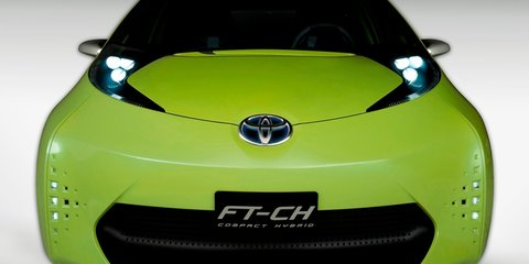 Toyota FT-CH hybrid concept unveiled at NAIAS