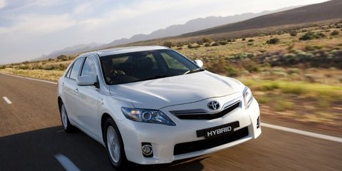 Toyota Hybrid Camry Launched