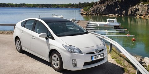 Toyota Prius global recall announcement