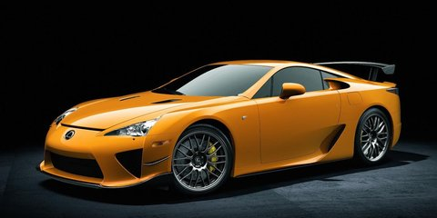 Lexus LFA with Nurburgring package officially announced