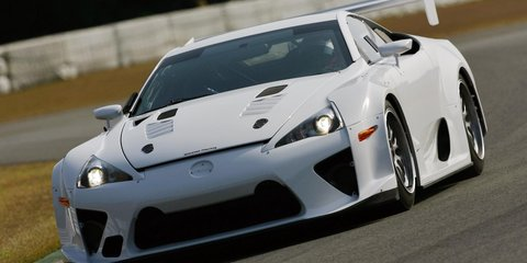 Lexus LFA set to tackle Nürburgring 24 Hour race