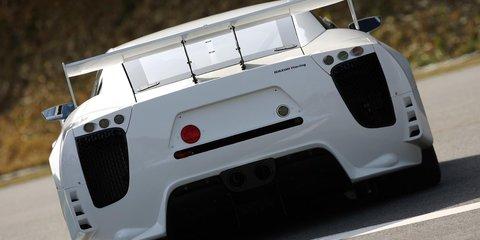 Lexus LFA set to tackle Nürburgring 24 Hour race