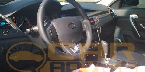 Renault Samsung SM5 spied testing in Australia