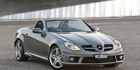 2010 Mercedes-Benz SLK 300 Roadster introduced, fourth model in range