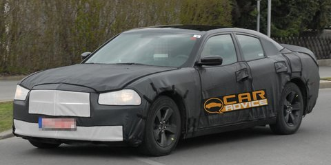 2011 Dodge Charger spy photos