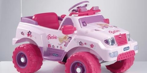 Man loses licence drink driving in pink Barbie car