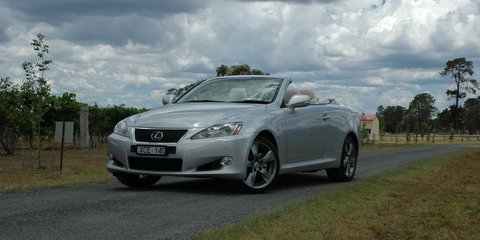 Lexus IS250C Review