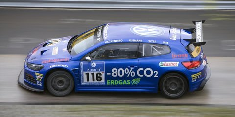 Volkswagen Scirocco natural gas-powered racer to compete at Nürburgring 24-hour