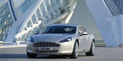 Aston Martin's Rapide rolls out rapidly