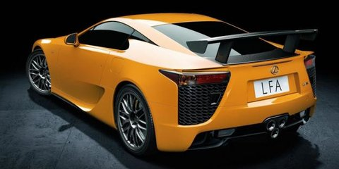 Lexus LFA Commercial (video)